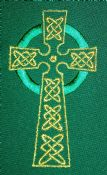 Seasonal Celtic Cross (090)